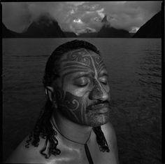 Maori Moko | Maori with facial moko by Chris Rainier