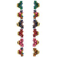 Crystal Rhinestone, Crystal Beads, Crystals, Claw Hair Clips, Pearl Headpiece, Pearls, Mini, Metal, Flowers