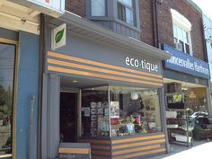 Happy to welcome aboard our new consignment shop, Ecotique in Roncesvalles Village in Toronto