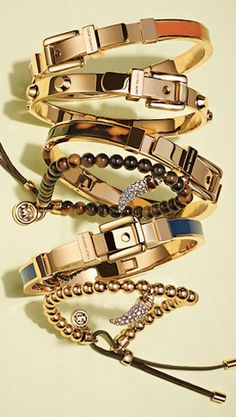 Pretty bangles from Michael Kors rstyle.me/...