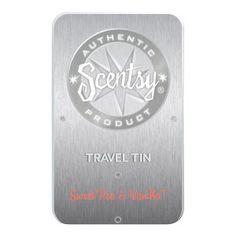 Sweet Pea & Vanilla Scentsy Travel Tin  Your Price: $5.00  To Order: https://wabramson.scentsy.us/Scentsy/Buy/ProductDetails/TT-SPV