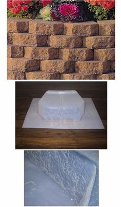 Retaining Wall Block Concrete Molds