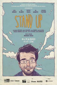 STAND UP - por Tiago Lacerda