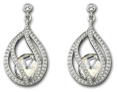 Swarovski Megan Pierced Earrings *** You can find out more details at the link of the image. (Amazon affiliate link)