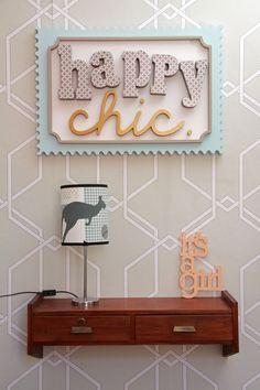 Happy Chic - Diseño para Entornos Felices.- Estudio Integral de Diseño y Decoracion de Interiores.-