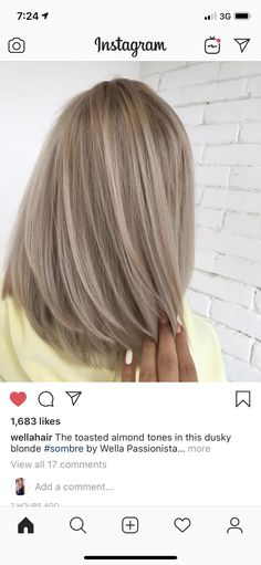 Best Photos Balayage hair blonde pastel Concepts Summer's on the way! Plus all of our opinions choose happier, less heavy, far more glamorous and s Cheveux Beiges, Blonde Grise, Medium Hair Styles, Curly Hair Styles, Pretty Hairstyles, Hairstyle Ideas, Black Hairstyle, Bangs Hairstyle, Balayage Hair Blonde