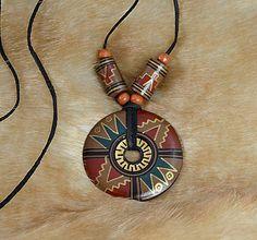 charoit / Náhrdelník s indiánskym amuletom II