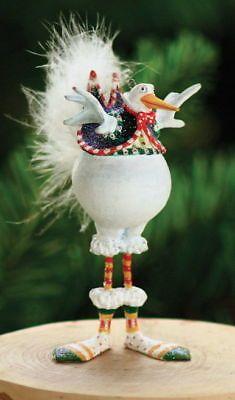 Xmas Krinkles' Bernie Snowbird' Mini Ornament  Patience Brewster