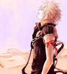 Cloud Strife. Fan art. Final Fantasy VII: Advent Children.