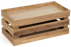 Wooden Crate Dump Bin, Collapsible with False Bottom, Large - Oak False Bottom, Puzzle Frame, Wood Crates, Craft Fairs, Diy Projects, Rustic, Make It Yourself, Hobbies, Crafts