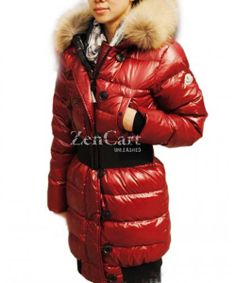 Moncler LUCIE New Women Pop Star Dark Red Coat Down! Only $286.9USD