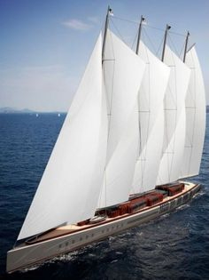 World's Largest Sailing Superyacht in Production photo