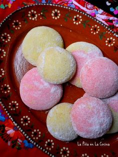 Polvorones ~ Mexican-Style Cookies – The Pineapple in the Kitchen – Famous Last Words Mexican Pastries, Mexican Sweet Breads, Mexican Bread, Mexican Dishes, Mexican Bakery, Traditional Mexican Desserts, Spanish Desserts, Mexican Cookies, Mexican Dessert Recipes