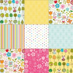 I love this! Sunny Happy Skies by Bella Blvd for Riley Blake Designs