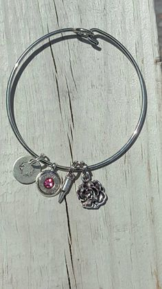 Hey, I found this really awesome Etsy listing at https://www.etsy.com/listing/280981788/buck-charm-bangle-country-girl-huntress