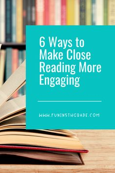 Close reading may seem like not very much fun for your students!  This post has some great information on how to make close reading more engaging!  From annotating to answering text dependent questions, students will actually enjoy close reading! Students will love close reading with all these fun ideas and tips!