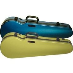Bam Anise and Azure Blue Contour 2002 Violin Case  http://www.stringplayercentral.com