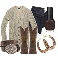 """""""Suzi Loves Cowboys"""" by qtpiekelso on Polyvore"""