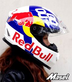Red Bull Helmet By Cirus & Masei