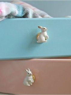 Bunny drawer pulls