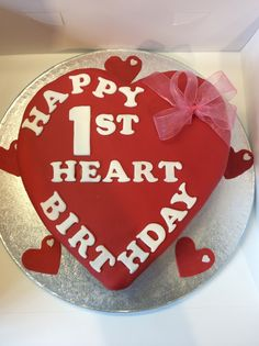 1st year anniversary / birthday for a Heart Transplant patient Ebstein's Anomaly, New Heart,