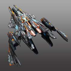 Starfighter 3D Model Game ready .max - CGTrader.com