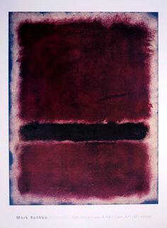 Mark ROTHKO : Sans titre, 1963