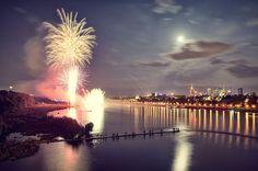 Fireworks, Wianki 2013, Warsaw, Poland