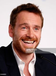 I need to say that i almost died in the middle of my room!  Michael Fassbender attends the 'Macbeth' press conference during the 68th annual Cannes Film Festival on May 23, 2015 in Cannes, France.