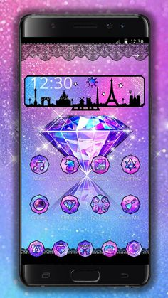 Diamond Theme, Android Theme, Cute Themes, Phone Themes, Google Play, Cookie, Apps, Wallpaper, Biscuit