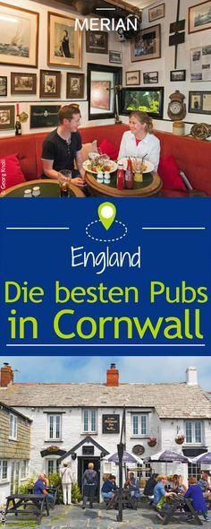 Was wäre eine England-Reise ohne ein Besuch in einem klassischen Pub? Wir zeigen euch die besten Pubs im Südwesten Englands in Cornwall!