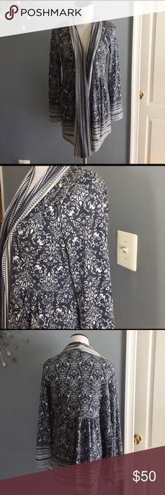 Anthropologie one September pattern Cardigan Like new. Worn once Anthropologie Sweaters Cardigans