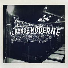 Hand made ! . . . . . . . . . @maksignspainter  #cocktail #leMondeModerne #MondeModerne #lille #bar