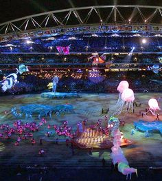Olympic Games: Opening ceremonies throughout the years: 2000 Sydney