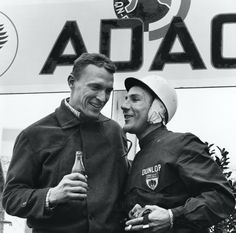 Stirling Moss and Dan Gurney won the 1960 Nürburgring in the Maserati Tipo 61 'Birdcage'. Maserati Birdcage, Dan Gurney, The Right Stuff, Indy Cars, Stirling, Car And Driver, Lady And Gentlemen, Formula One, Race Cars