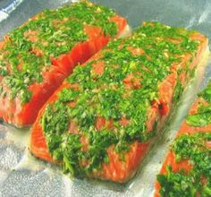 Health is Wealth Journal: Salmon with Cilantro and Lime