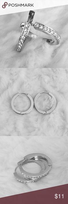 Silver Earrings Small silver earrings Jewelry Earrings