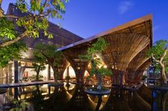 #Bambú un material natural, de bajo costo y #sostenible para las nuevas construcciones. #Hogaressauce.