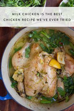 Milk Chicken Is the Best Chicken Recipe We've Ever Tried via @PureWow