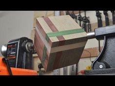 Now THIS is going to be INTERESTING! - YouTube Small Wood Projects, Wood Turning Projects, Cool Woodworking Projects, Woodworking Skills, Woodworking Plans, Welding Projects, Woodworking Tools, Wood Router, Wood Lathe