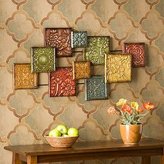 TUSCAN MEXICAN HACIENDA SPANISH COLONIAL STYLE DECOR Iron Wall Art