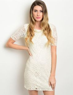 From the Moment I Met You Lace Dress- Dream Catcher Boutique