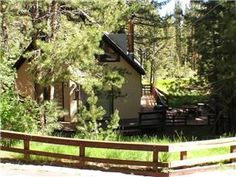 """South Lake Tahoe, CA: """"Chipmunk Cabin"""" is located on the south shore of Lake Tahoe. It is approximately 10 miles from the casinos at the state line, and the nearest ski res..."""