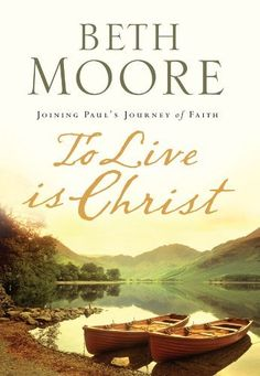 To Live Is Christ by Beth Moore, http://www.amazon.com/dp/B003WEA5C4/ref=cm_sw_r_pi_dp_2rEYsb0JY7BN8