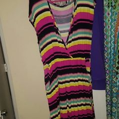 Maxi dresd Size 2xs multi colored maxi dress Dresses Maxi