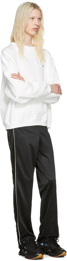 Raf Simons - Black adidas Originals Edition Ozweego Bunny Sneakers
