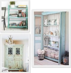 Muebles pintados a mano on Pinterest  Mesas De Luz, Painted Iron Beds and Vi...