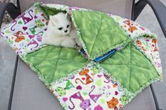 Edredón manta de franela gato, Ragged Edge gato manta, colcha de franela gato, para gatos, cama de gato de lujo, gato cama, manta del gato de trapo, trapo gato tejido