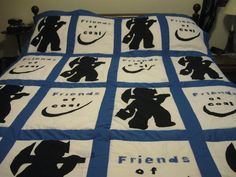 This Is A Handmade Hand Quilted Coal Miners Prayer Quilt