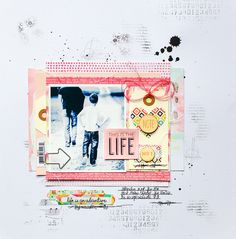 {This is the life → Hip Kit Club February kit + Add-Ons} (via Bloglovin.com )